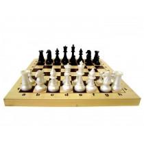 Гроссмейстерские шахматы с пластиковыми фигурами