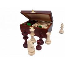 Шахматные фигуры Стаунтон 5 в деревянном ларце