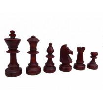 Шахматные фигуры деревянные Стаунтон №6 с утяжелителем
