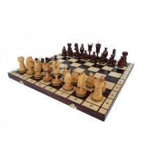 Шахматы Королевские инкрустированные медной нитью большие