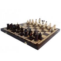 Шахматы Королевские инкрустированные медной нитью (Royal)