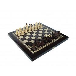 Набор 3 в 1 - шахматы, шашки, нарды Люкс