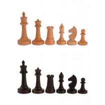 Фигуры деревянные шахматные Баталия №5 без утяжелителя