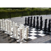 Напольные шахматные фигуры гигантские 90 (без доски)