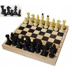 Шахматы Айвенго 2 в 1: шахматы + шашки с шахматной доской
