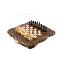 Шахматы-нарды с авторским контуром Арарата