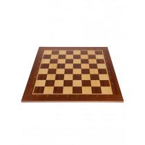 Доска шахматная Турнирная Махагон 50
