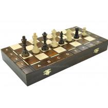 Шахматы деревянные 3 в 1 - шахматы, шашки, нарды Wegiel