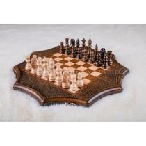 Шахматы резные с бронзой 30, Ohanyan