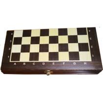 Доска шахматная складная Венге Люкс