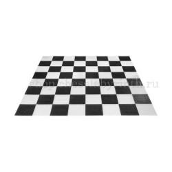Поле шахматное пластиковое большое 3,2x3,2 м