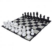 Напольные мини шахматы 21 Классические ( с доской )