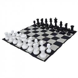 Напольные мини шахматы 21 Классические (с доской)