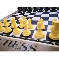 Напольные малые шахматы с доской 15
