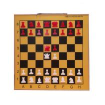 Шахматная демонстрационная доска Гроссмейстер 80 желтая