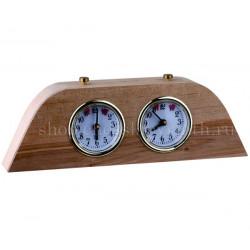 Шахматные часы Этюд (дуб)