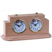 Шахматные часы Престиж (дуб)