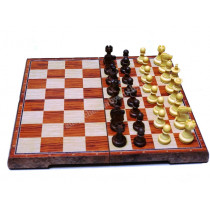 Шахматы магнитные пластиковые Люкс средние