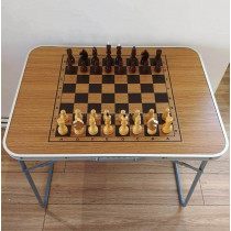 Шахматный стол складной дуб