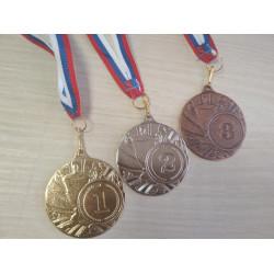 Шахматная медаль (три вида)