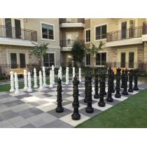 Напольные шахматные фигуры гигантские 122