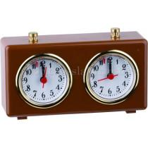 Часы шахматные Рубин коричневые