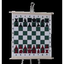 Шахматная демонстрационная доска виниловая