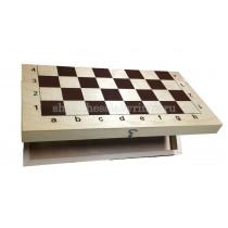 Деревянная шахматная доска большая