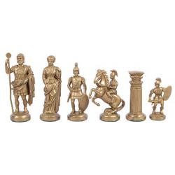Шахматные фигуры Римский дизайн пластиковые