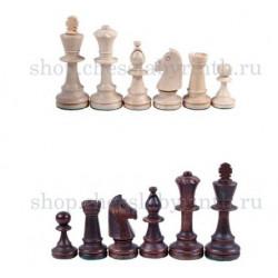 Шахматные фигуры деревянные Стаунтон №5 с утяжелителем