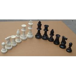 Шахматные фигуры пластиковые с утяжелителем большие