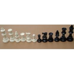 Шахматные фигуры пластиковые средние