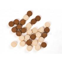 Шашки деревянные