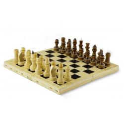 Шахматы обиходные инкрустированные соломкой