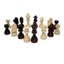 Шахматные фигуры деревянные Стаунтон №7 с утяжелителем
